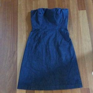 Ann Taylor Jean dress